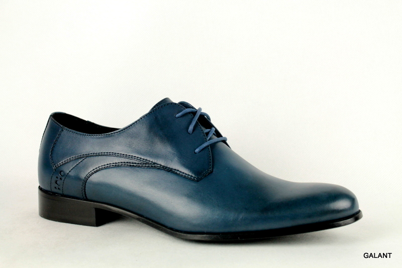 Pantofle  Badura 7544 Granatowe