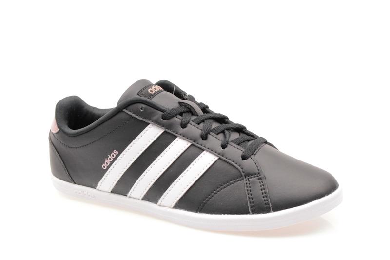 697fbfd3eff57 Buty Adidas Coneo QT DB0126 Czarne/Białe/Różowe Złote - Ob
